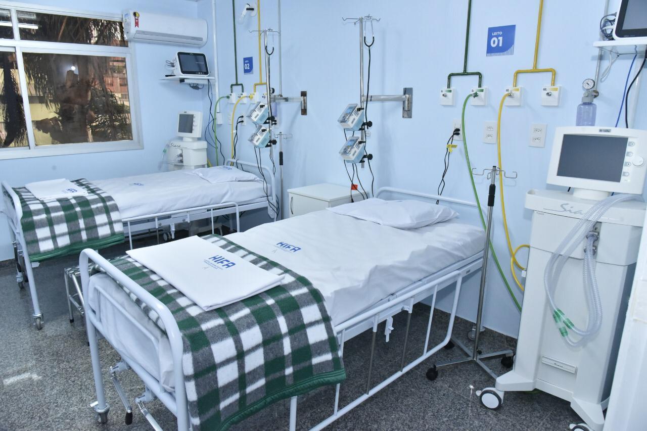 SESA em parceria com o HIFA abre Centro avançado de Tratamento da COVID-19