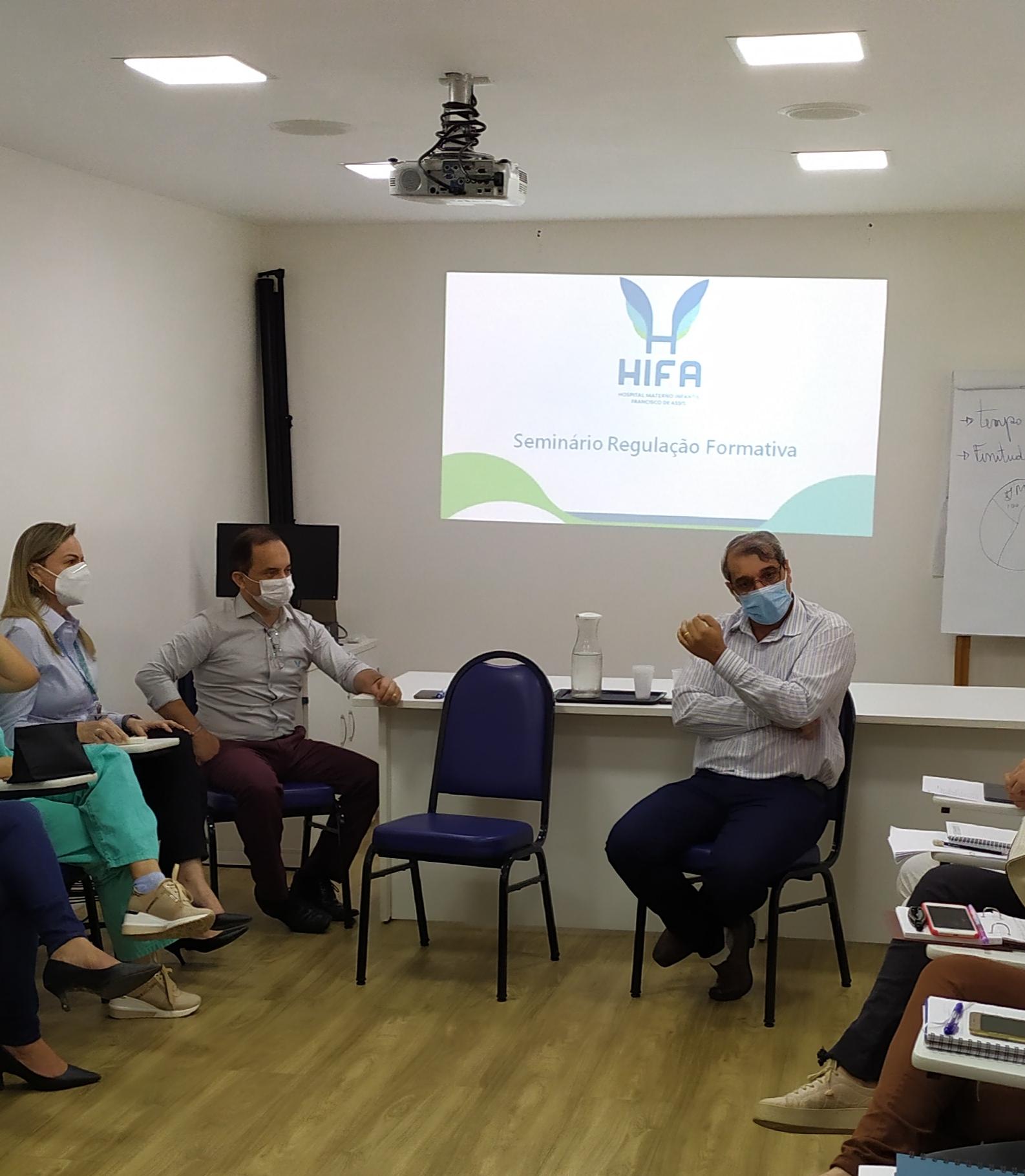 HIFA realiza Seminário de Regulação Formativa para capacitar gestores e corpo clínico