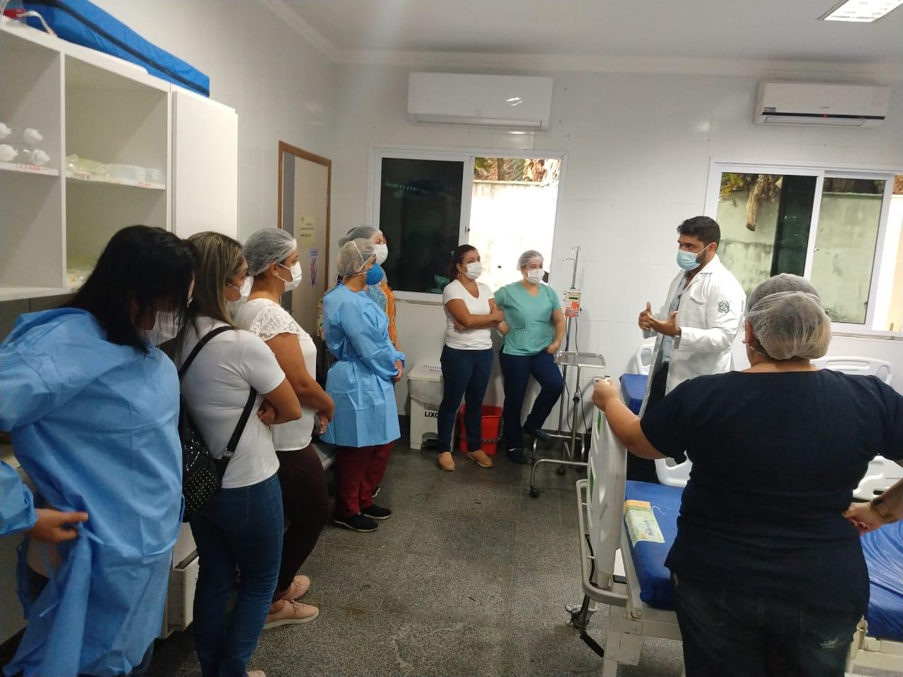 HIFA capacita profissionais do UPA de Guarapari