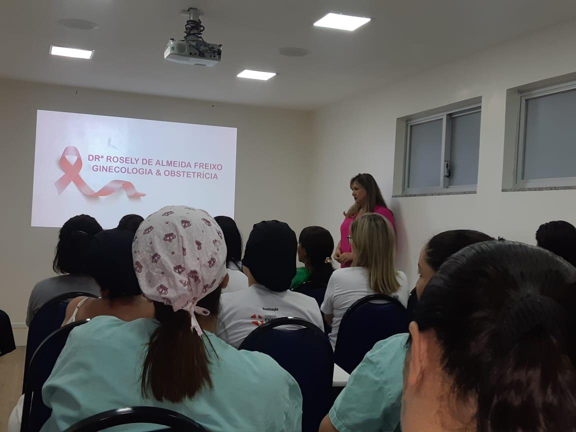 Prevenção de câncer de mama e do colo do útero é tema de palestra no HIFA